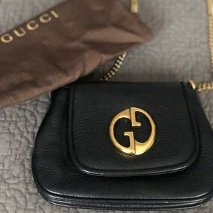 Gucci '1973' leather shoulder bag